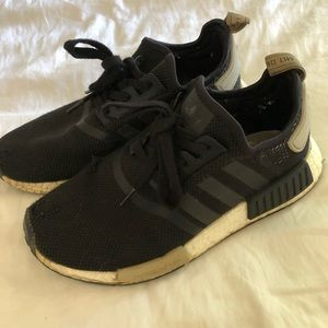 Original NMD with hole in one shoe. Size 8 womens